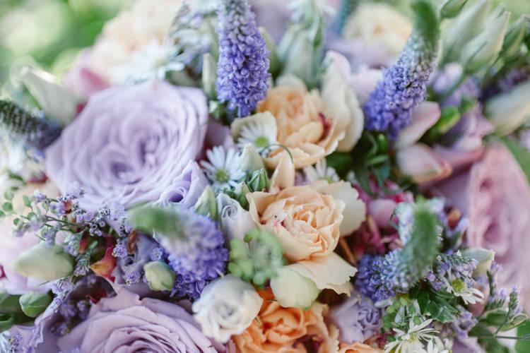 Pretty Purple Pastels Country Wedding http://www.nataliejweddings.com/