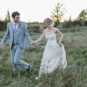 Pretty Purple Pastels Country Wedding