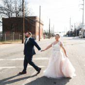 Romantic & Industrial Studio Loft Wedding in Georgia