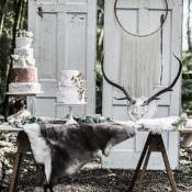 Bohemian Macramé Woodland Wedding Ideas
