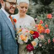 Colourful & Quirky Down To Earth Wedding