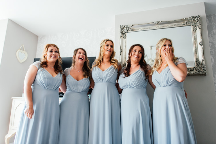 Grey Bridesmaid Dresses Fun Loving Secret Garden Tipi Wedding https://www.aaroncollettphotography.co.uk/