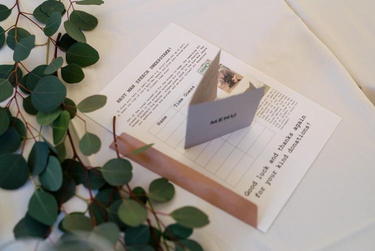 Speech Sweepstake Industrial Glam Marquee Wedding http://www.stottandatkinson.com/