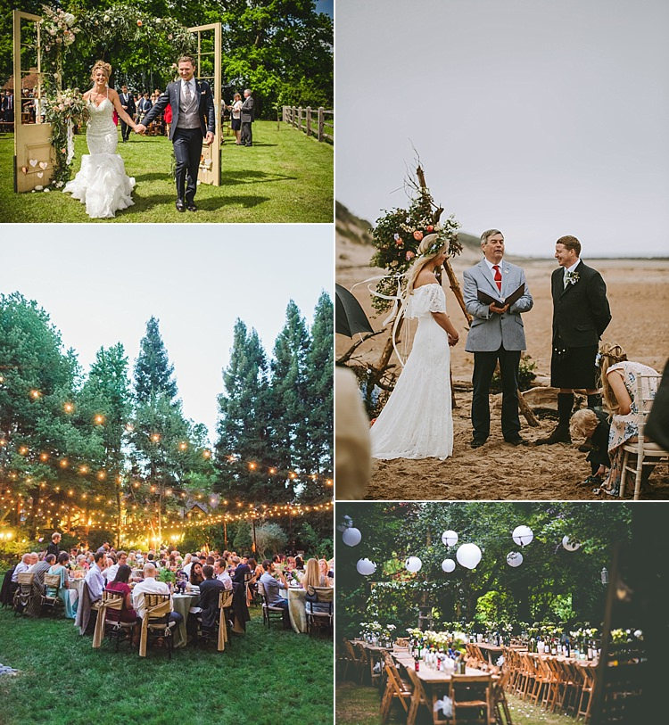 Outdoor Wedding Reception Ideas For Summer: Whimsical Wonderland Weddings