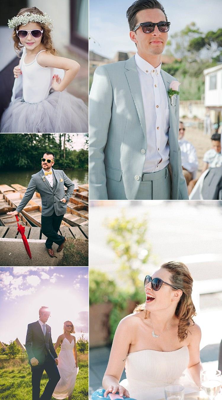 Summer Wedding Ideas Sunglasses Sunnies Bride Groom