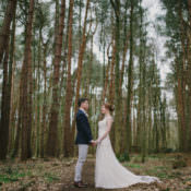 Magical & Cosy Forest Tipi Wedding