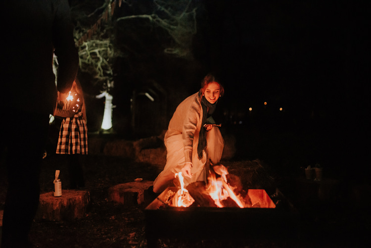 Magical Cosy Forest Tipi Wedding http://katewatersphotography.com/