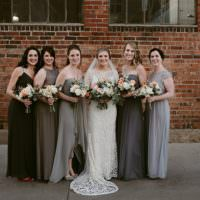 Hip Art Gallery Wedding Colorado http://www.lisarundallphotography.com/