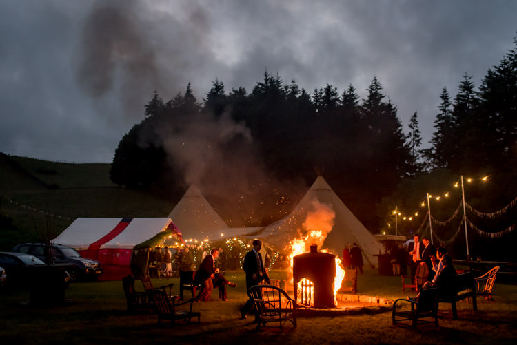 Camp Fire Festoon Lights Hippy Festival Travel Wedding http://www.mattbadenoch.com/