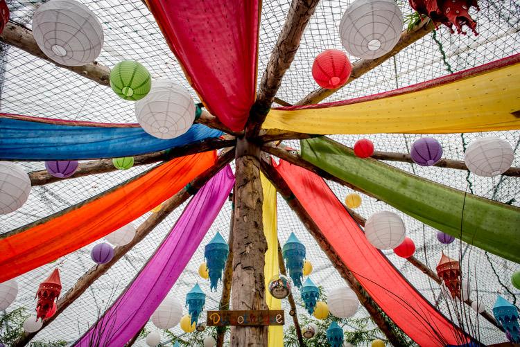 Lanterns Drapes Colourful Yurt Decor Hippy Festival Travel Wedding http://www.mattbadenoch.com/