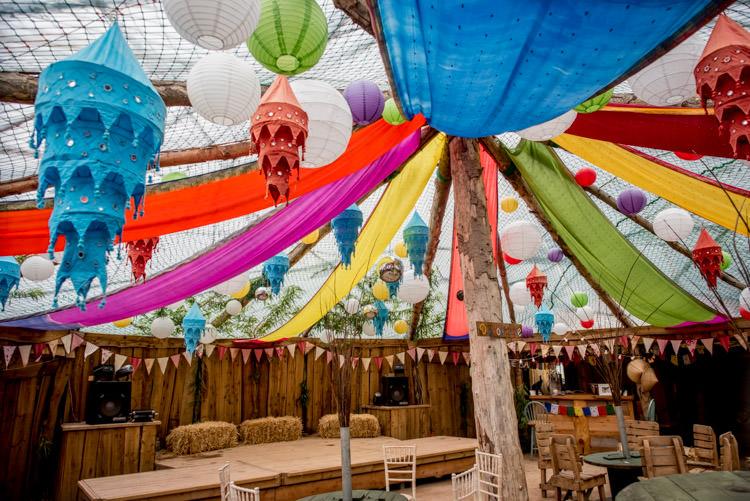 Yurt Lanterns Drapes Multicolour Decor Hippy Festival Travel Wedding http://www.mattbadenoch.com/