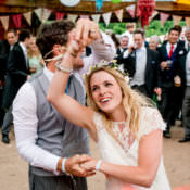 Hippy Festival & Travel Inspired DIY Wedding