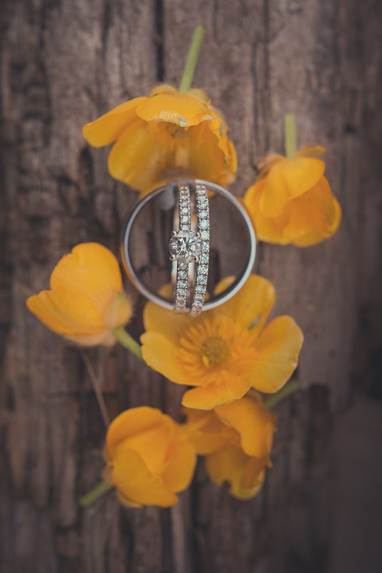 Diamond Engement Ring Band Eternity Whimsical Countryside Yurt Wedding http://jamesgreenphotographer.co.uk/
