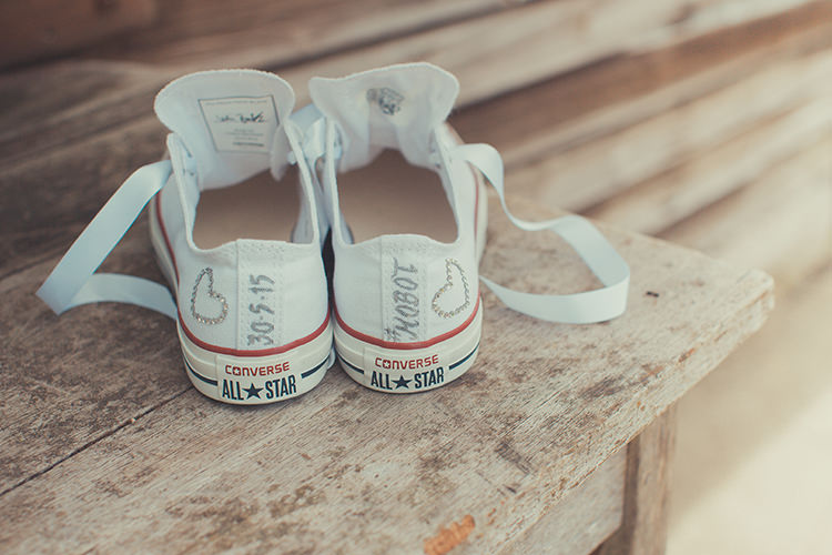 Converse Bride Customised Whimsical Countryside Yurt Wedding http://jamesgreenphotographer.co.uk/