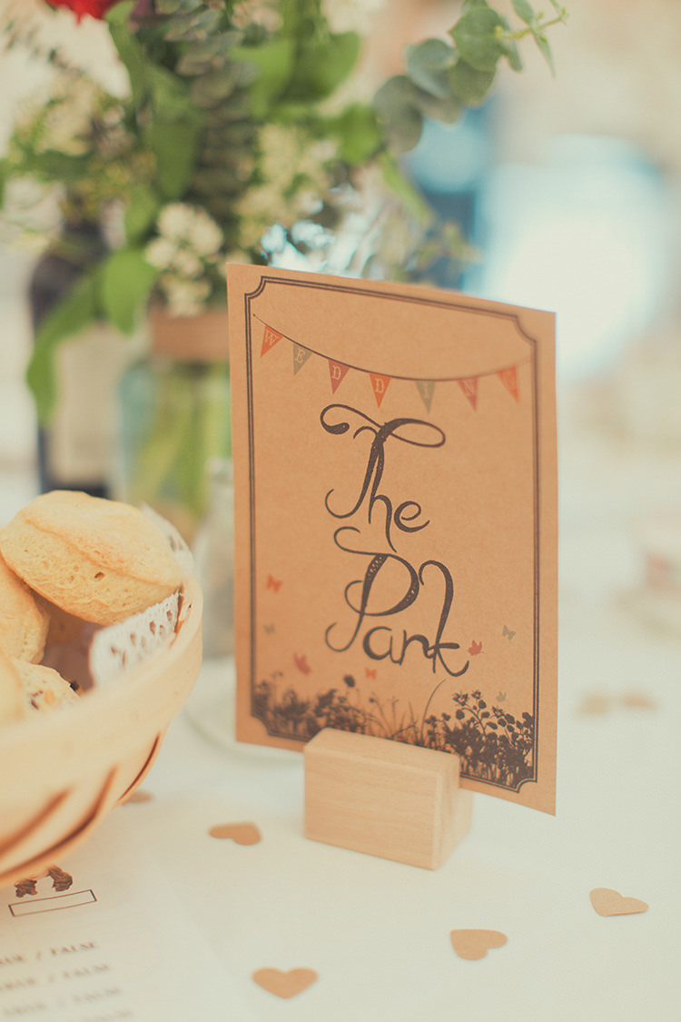 Table Names Festival Whimsical Countryside Yurt Wedding http://jamesgreenphotographer.co.uk/