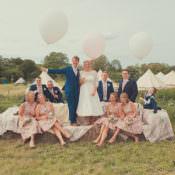 Whimsical Countryside Yurt Wedding