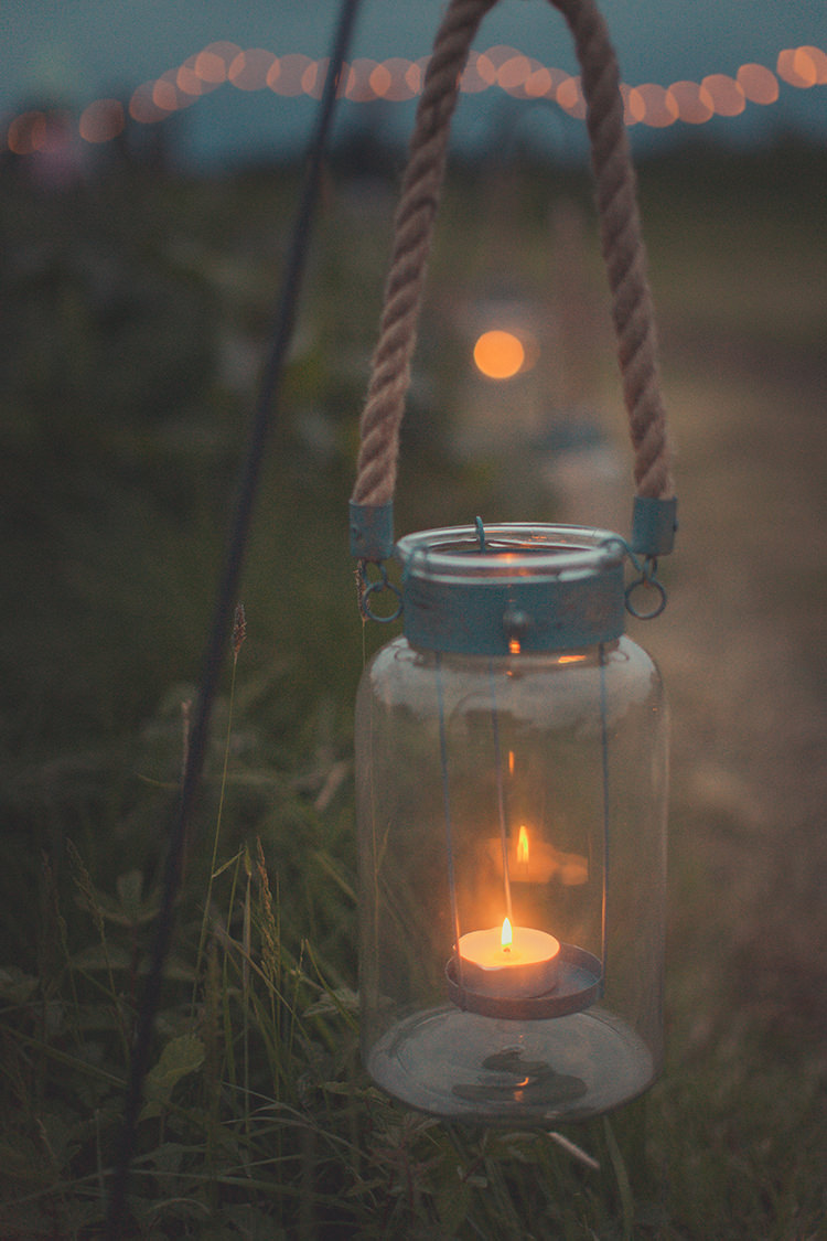 Lantern Candle Whimsical Countryside Yurt Wedding http://jamesgreenphotographer.co.uk/