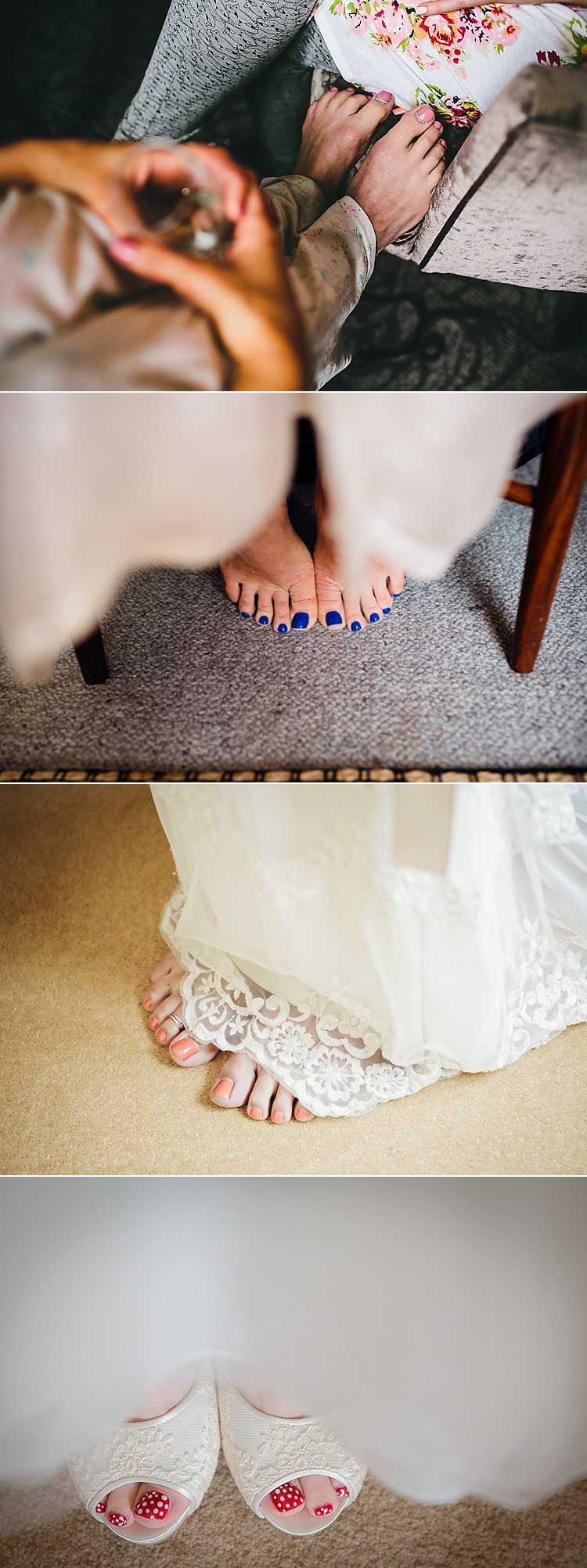 Wedding Bridal Pedicure Bride Nails Art Ideas