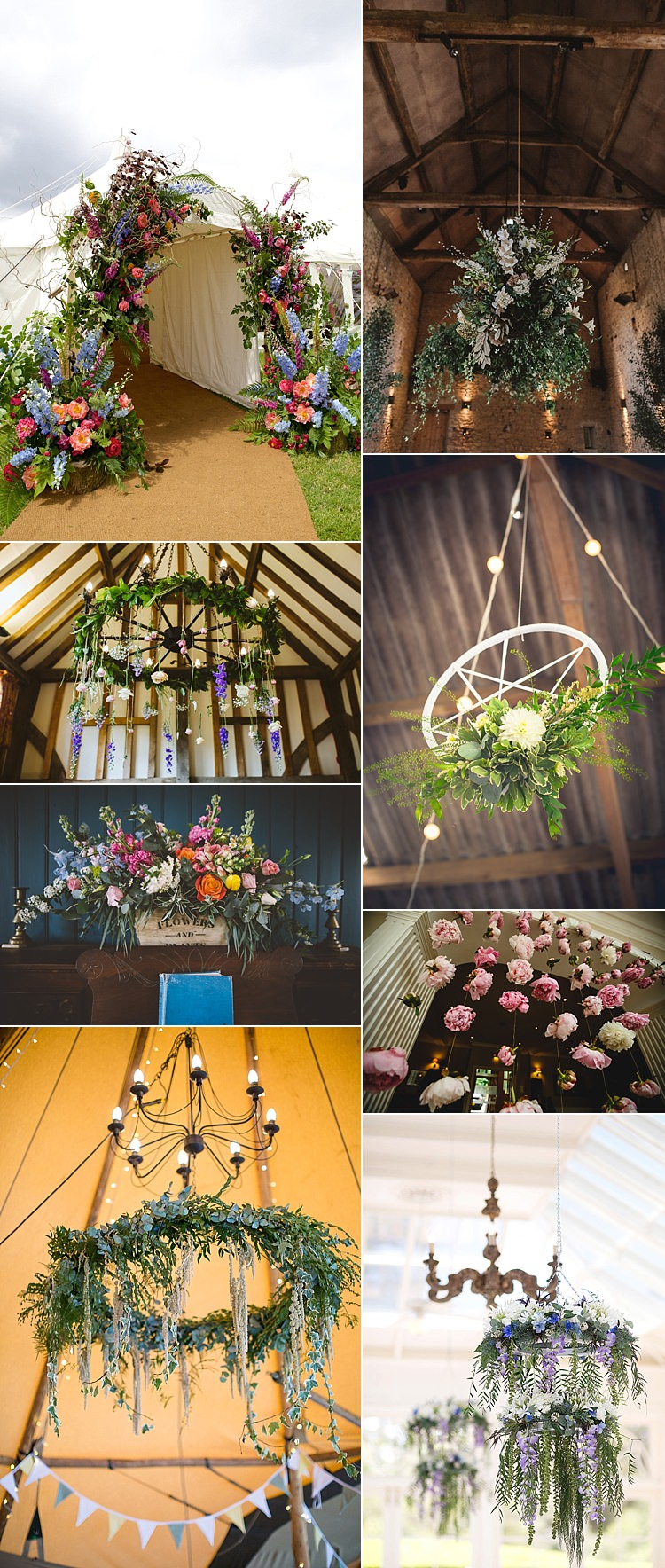 Installations Venue Decor 2017 Wedding Flower Trends Bouquets Ideas Inspiration