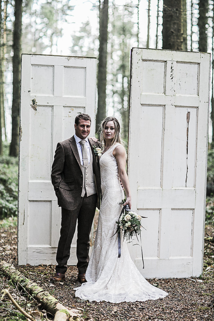 Bohemian Macramé Woodland Wedding Ideas