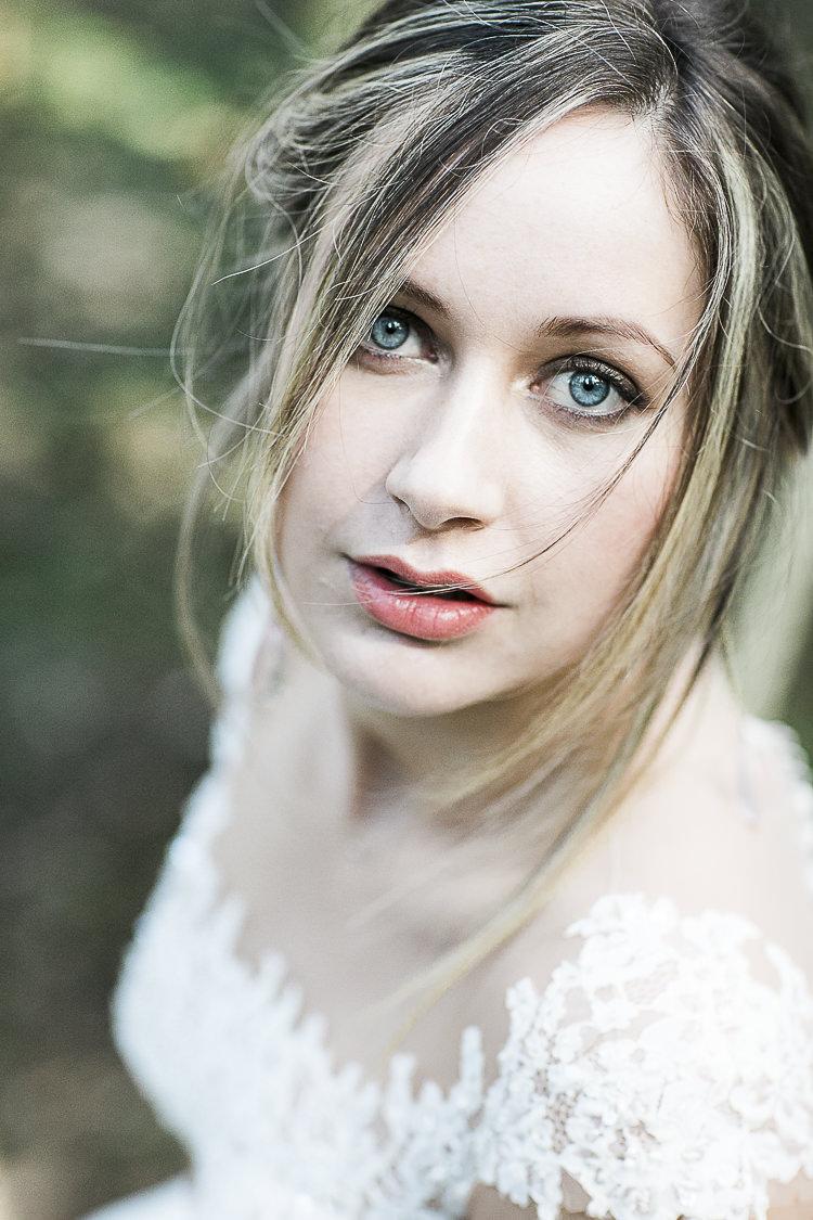 Bride Bridal Make Up Bohemian Macramé Woodland Wedding Ideas https://samieleephotography.com/