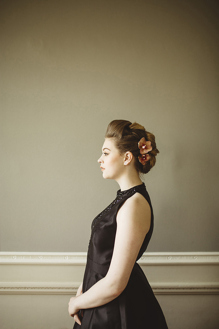 Flowers Hair Bride Bridal Style Dutch Masters Wedding Inspiration https://www.kindredphotography.co.uk/