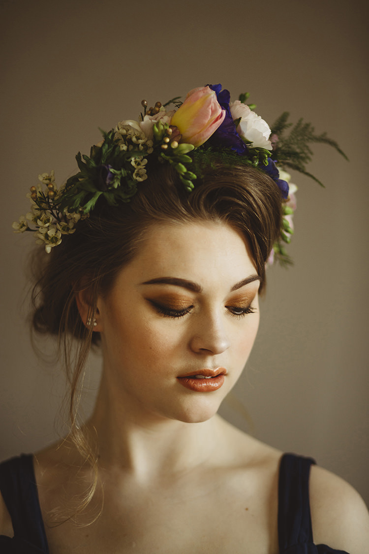 Make Up Bride Bridal Look Style Dutch Masters Wedding Inspiration https://www.kindredphotography.co.uk/