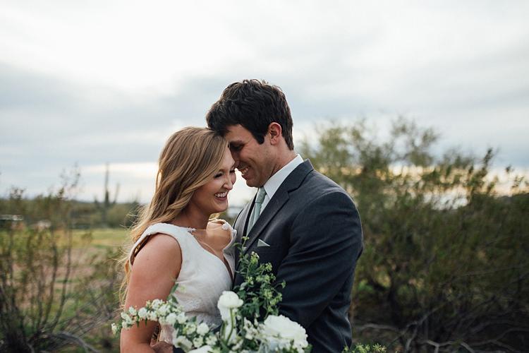 Bride Groom Laughter Romantic Desert Elopement Ideas http://beginningandendphoto.com/