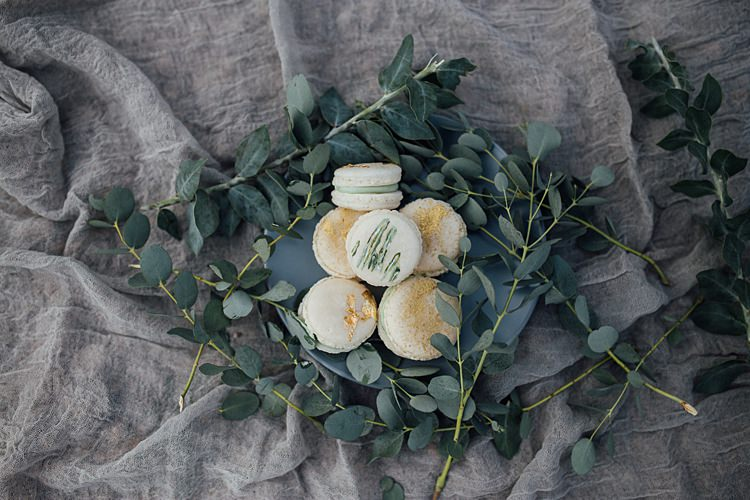 Macarons Dessert Romantic Desert Elopement Ideas http://beginningandendphoto.com/