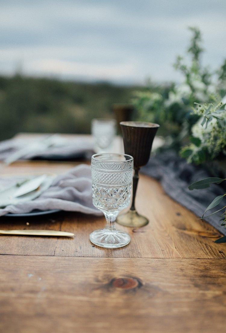 Glassware Romantic Desert Elopement Ideas http://beginningandendphoto.com/