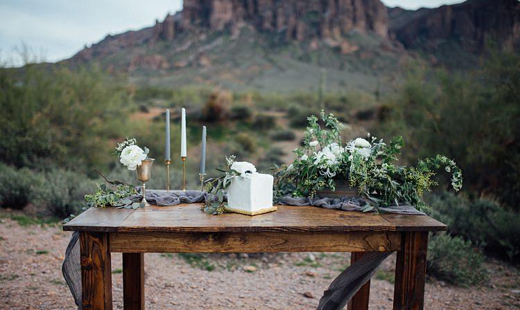 Table Decor Candles Romantic Desert Elopement Ideas http://beginningandendphoto.com/