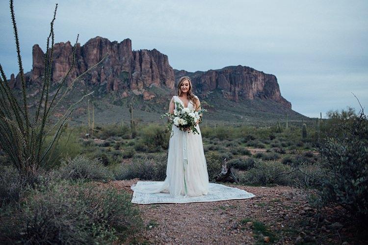 Bride Romantic Desert Elopement Ideas http://beginningandendphoto.com/