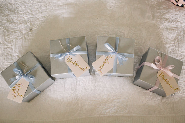 Bridesmaid Gifts Boxes Delightfully Stylish Spring Wedding in the Lake District http://jamiedunnphotography.com/