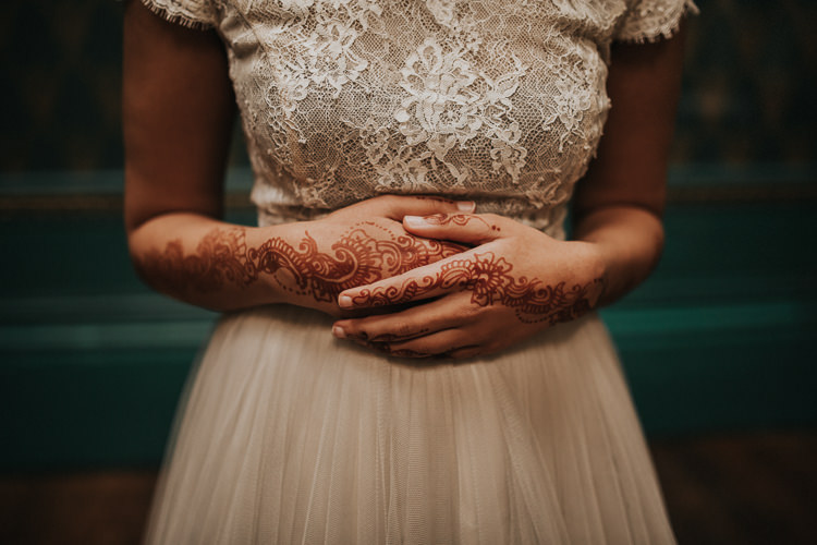 Mehndi Modern Jewel Tone Asian Fusion Wedding Ideas http://liannegrayphotography.com/