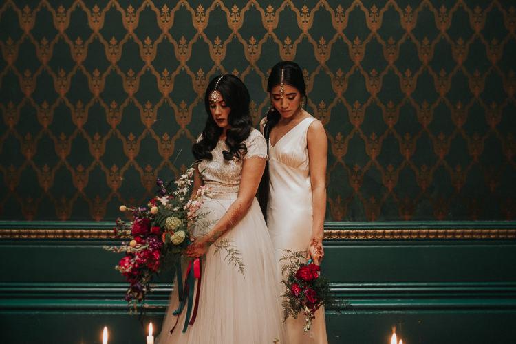 Modern Jewel Tone Asian Fusion Wedding Ideas http://liannegrayphotography.com/