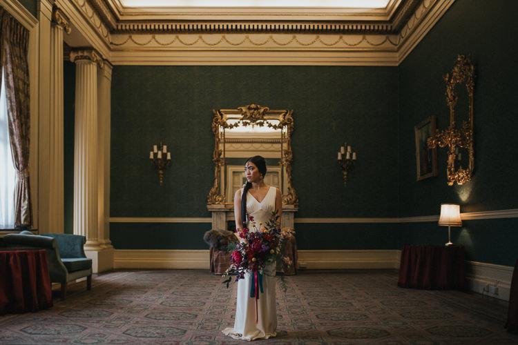 Modern Jewel Tone Asian Fusion Wedding Ideas http://liannegrayphotography.com
