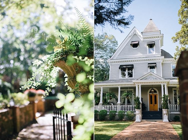 Venue Bohemian Outdoor Greenery Wedding Georgia http://www.sowingclover.com/