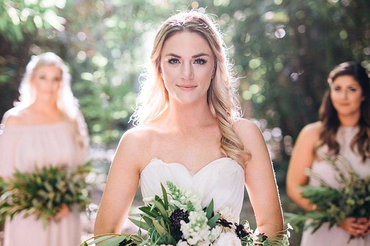Bride Bohemian Outdoor Greenery Wedding Georgia http://www.sowingclover.com/