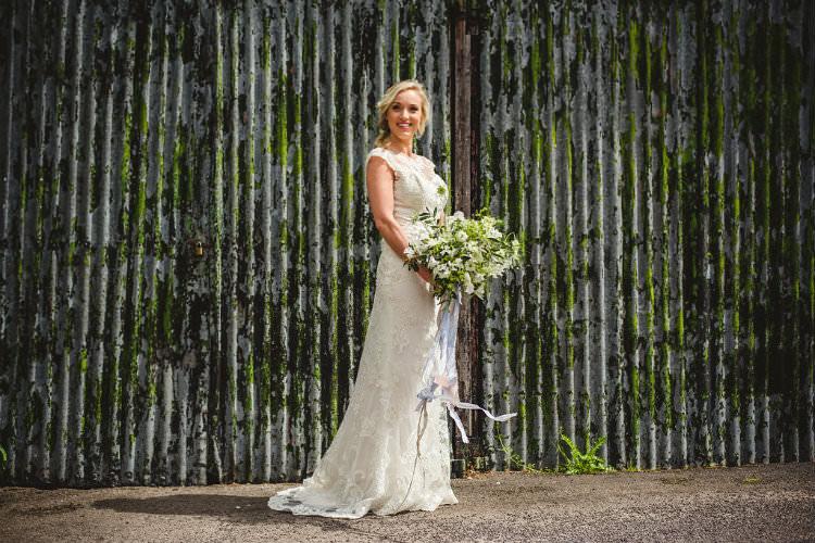 Romantica of Devon Lace Dress Gown Bride Bridal Garden of Hygge Wedding Ideas http://www.sophieduckworthphotography.com/