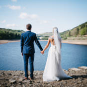 Rustic DIY Wedding at Home in the Peak District