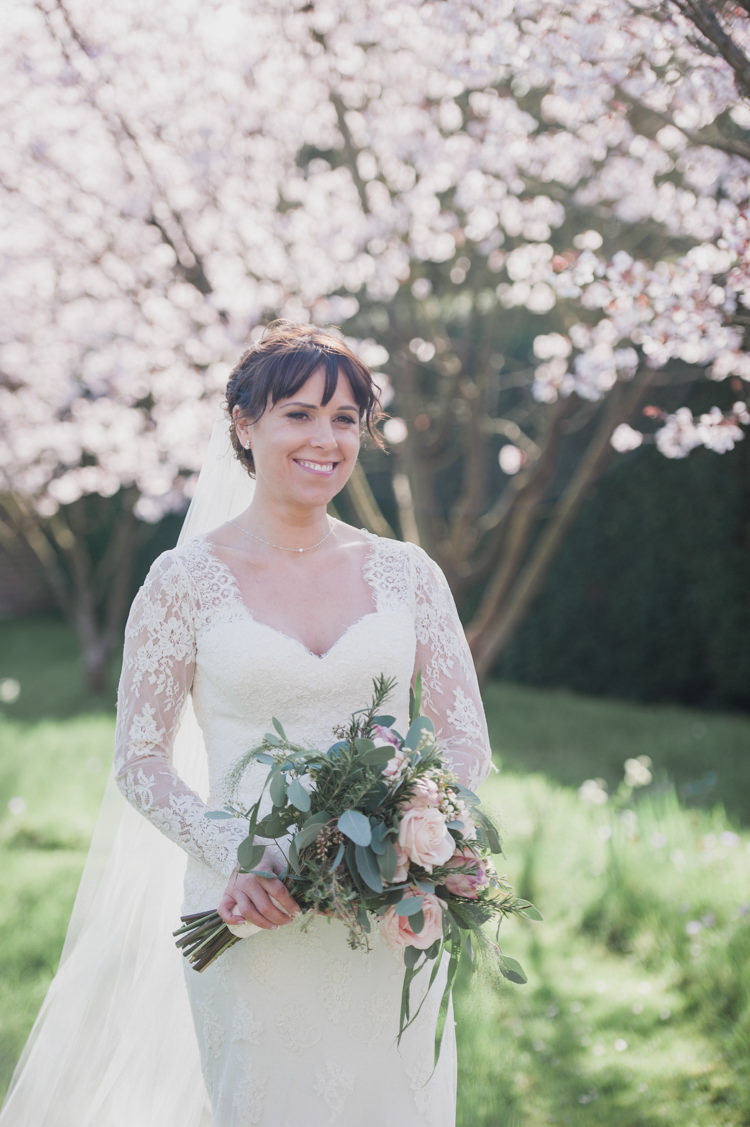 Cherry Blossom Wedding Dress