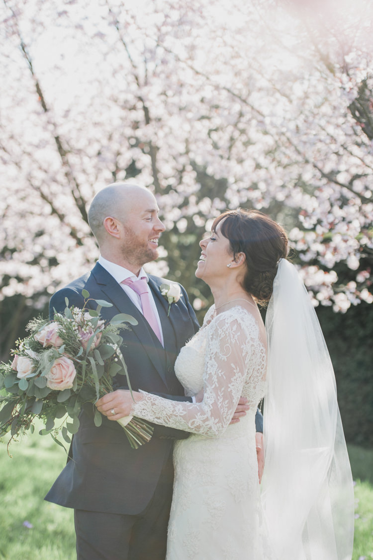 Classic Spring Cherry Blossom Wedding
