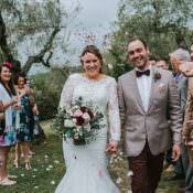 Burgundy Destination Wedding in Italy
