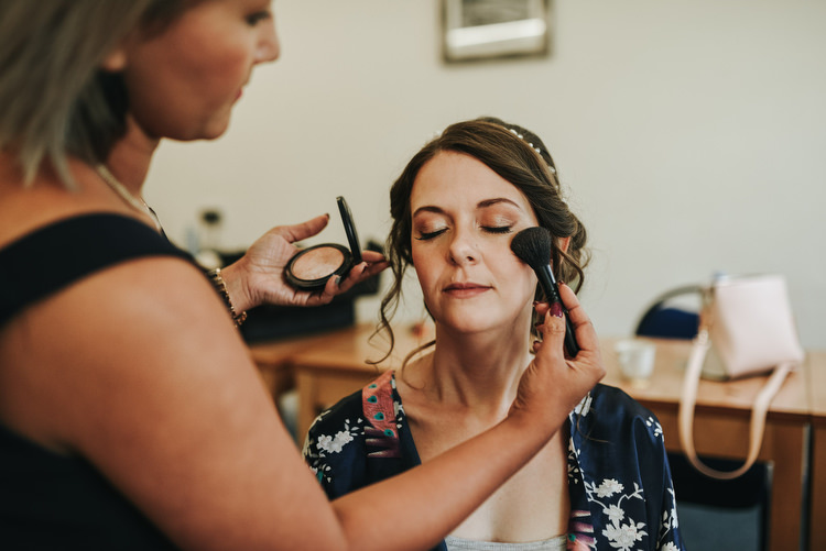Make Up Bride Bridal Eye Shadow Crafty Fun Budget Friendly Wedding https://www.pearbearphotography.com/