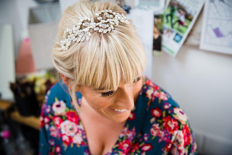 Hair Band Bride Bridal Accessory Graceful Walled Garden Wedding http://helenkingphotography.co.uk/