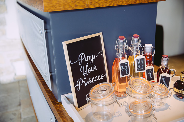 Pimp Prosecco Station Bar Drinks Romantic Soft Pastel Pretty Wedding http://hayleybaxterphotography.com/