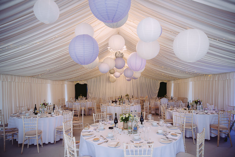 Marquee Lilac Grey Decor Romantic Soft Pastel Pretty Wedding http://hayleybaxterphotography.com/