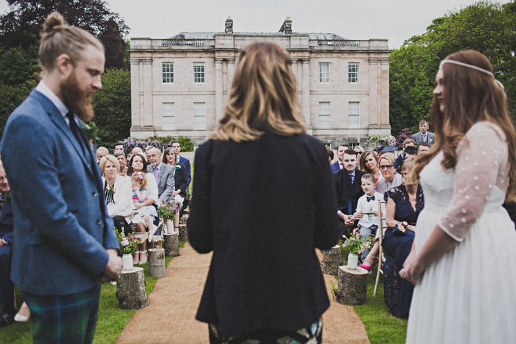 Enchanting Free-Spirited Outdoor Wedding http://www.johnelphinstonestirling.com/