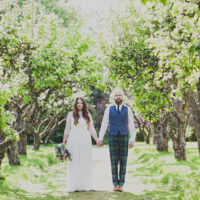 Enchanting Free-Spirited Outdoor Wedding http://www.johnelphinstonestirling.com/