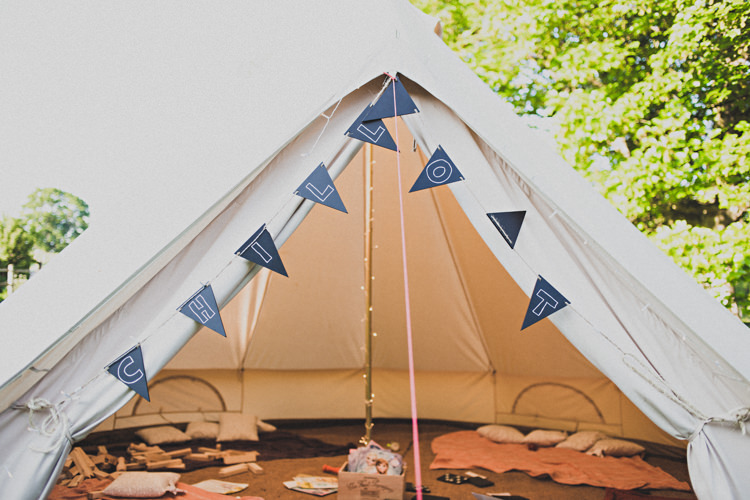 Tipi Bell Tent Area Kids Enchanting Free-Spirited Outdoor Wedding http://www.johnelphinstonestirling.com/
